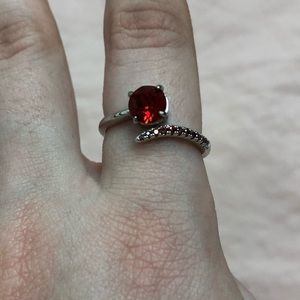 ✨3/$15 SALE, Fragrant Jewels Red Stone Ring✨